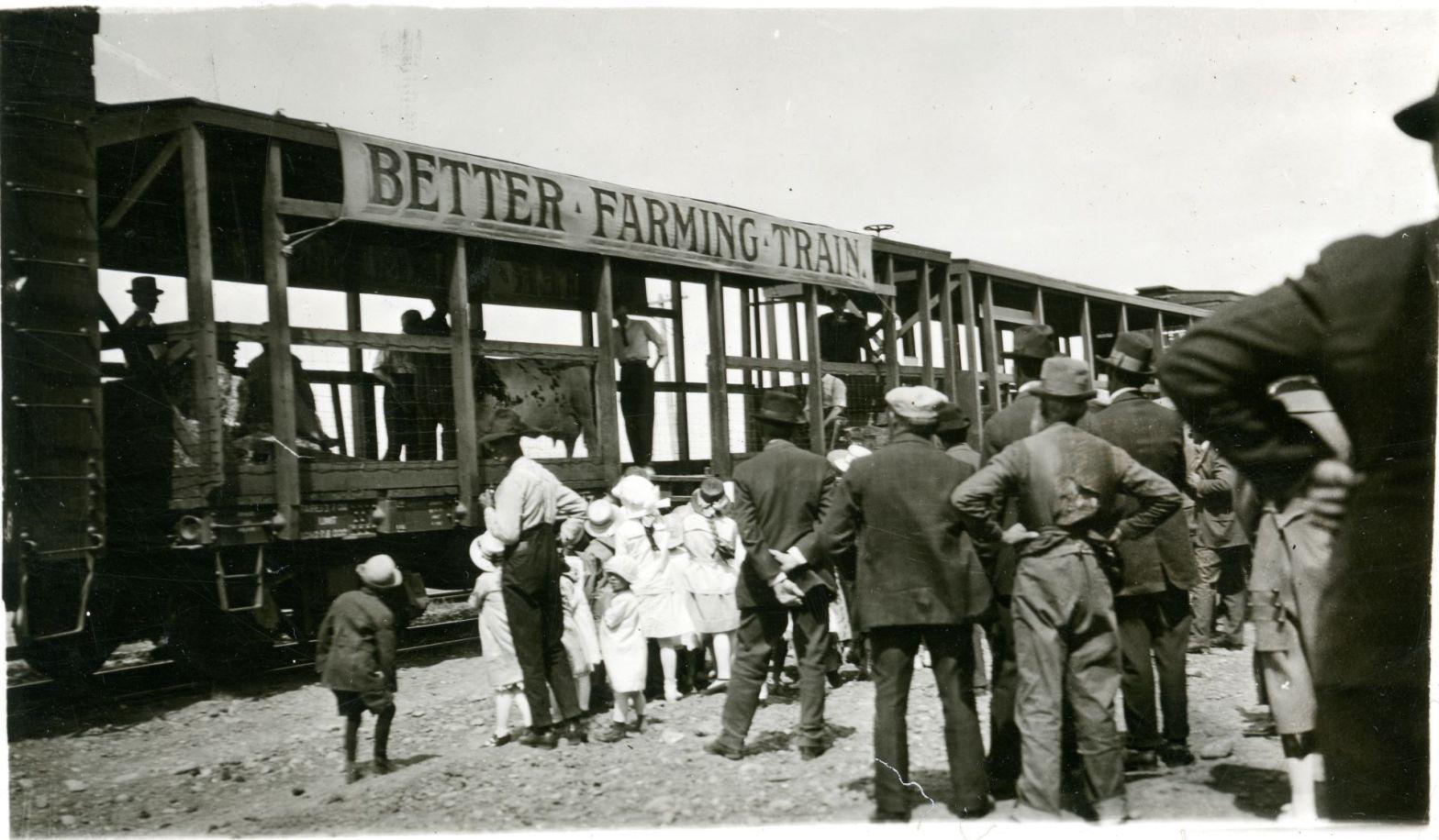 The Better Farming Train